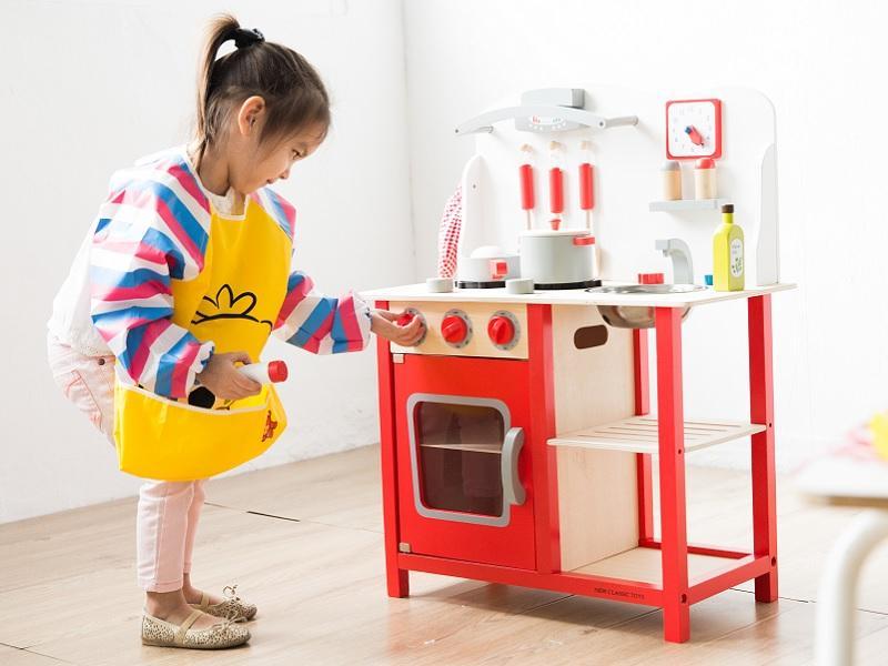 荷蘭小主廚木製廚房玩具