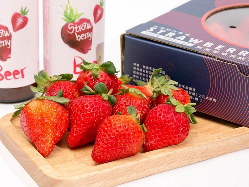 【限量】特選在地無毒草莓