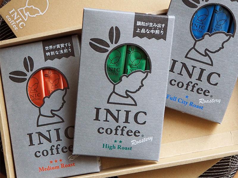 日本 INIC 即溶咖啡系列