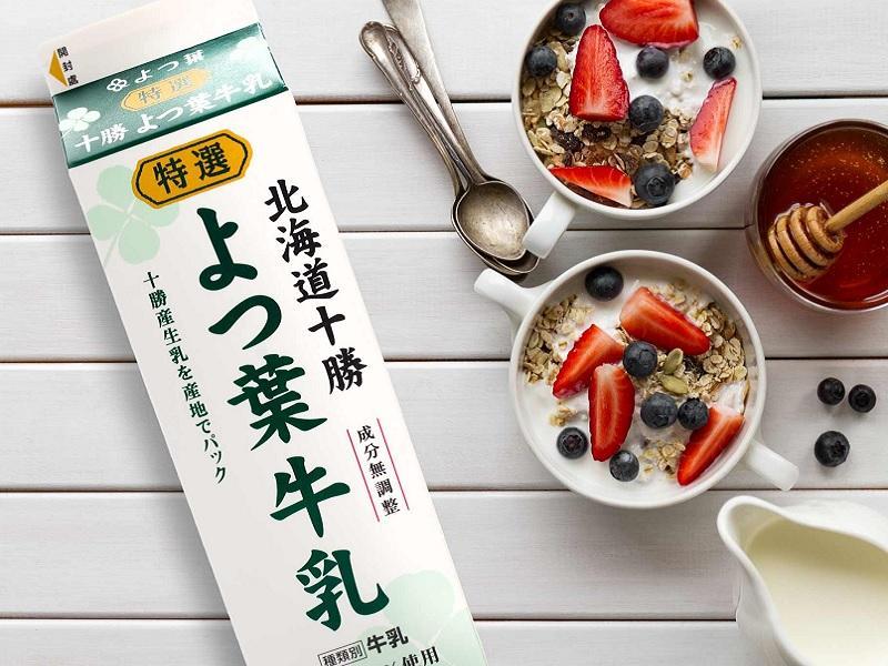 日本四葉特選乳品